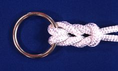 Cow Hitch Knot | ... knot has moderate resistance to slippage. Knot breaking strength is 75