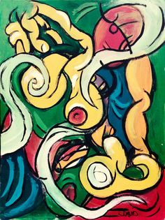 'Frau in Bewegung' von David Joisten bei artflakes.com als Poster oder Kunstdruck $6.48