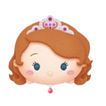 Sofia is a Premium Box Tsum. She is currently only available on the Japanese version. Tsum Tsum Princess, Disney Tsum Tsum, Kawaii Disney, Princess Cupcakes, Tsumtsum, Drawing Templates, Disney Frozen Elsa, Sofia The First, Princess Aurora