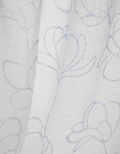 Toppoint Elsa Voile #gordijnen #curtains #white #wit www.onlinegordijnenshop.nl