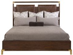 Buy the Hickory White Continental Classics Upholstered King Bed for Sale at Carolina Rustica. Zen Furniture, Furniture Styles, Bedroom Furniture, Furniture Design, Manhattan Loft, Hickory White, Bed Springs, Home Remodeling Diy, Bed Mattress