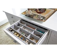 LA Closet Design | Collections | It's In the Details- custom drawer inserts