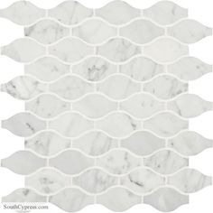 Buy the Daltile Carrara White Direct. Shop for the Daltile Carrara White Marble - x Marquis Mosaic Wall & Floor Tile - Polished Marble Visual and save. Marble Mosaic, Stone Mosaic, Mosaic Wall, Mosaic Glass, Mosaic Tiles, Mosaics, Calacatta Marble, Dal Tile, Best Flooring