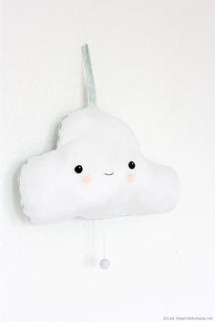 Meine kleine Wolke – Spieluhr aus Stoff | dekotopia.net | Bloglovin'