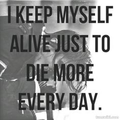 """I keep myself alive just to die more every day."" ** Scissorhands // motionless in white ** Band Quotes, Lyric Quotes, Band Memes, Qoutes, Dani Filth, Quotes White, Falling In Reverse, Motionless In White, My Demons"