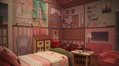 Full room dolls house feature!