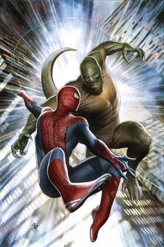 Spider-Man vs The Lizard - Adi Granov