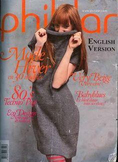Phildar №9 Magazine - réseau tricot - MAINS CREATIVE - Editeur - LIGNES DE VIE