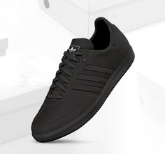 all black adidas samba men