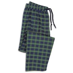 The Gentleman's Genuine Irish Flannel Lounge Pants - Hammacher Schlemmer Size: Large