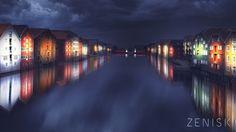 Zenisk AS – Lysplan for Nidelven og kanlen I Trondheim
