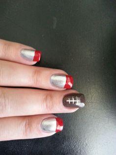 Ohio State Buckeyes! Nails.