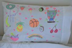 Design Your Own Pillowcase | Be A Fun Mum