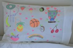 Design Your Own Pillowcase | Be A Fun Mum