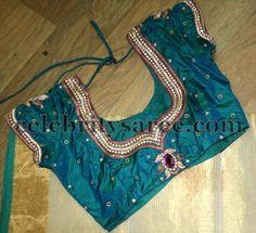 Maggam Floral Work Designer Blouses | Saree Blouse Patterns
