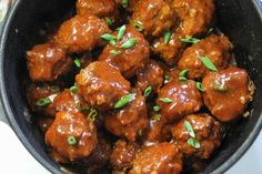 These bbq venison meatballs are the perfect appetizer for your next picnic or party. Simmer them in the slow cooker or on the stove. Serve them for dinner! Venison Meatballs, Venison Chili, How To Cook Meatballs, Venison Recipes, Venison Meals, Popular Recipes, Slow Cooker, Cooking Recipes, Bbq
