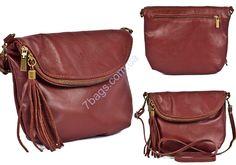 128bf85e1378 Удобная сумка кроссс-боди из натуральной кожи Virginia Conti Качественная  сумка кросс-боди из