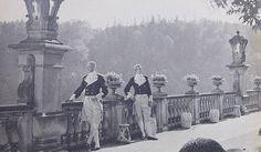 Fotografie podarowane zamkowi Książ w Wałbrzychu przez Jean Wessley - wnuczkę ich autora Louisa Hardouina