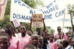 They are about thousands of children who are affected by war/fighting living then with physical and mental scars. Over 80% war affected children in Uganda it was causing them stress and depression. They all wish to have a normal life like others kids in the world. But they don't want a perfect life like the kids in USA, they want freedom,school,stop killing,food. They don't really want to be like the kids these days they only want to be happy, have food and a house to stay that's all they…