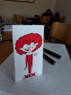 Red Clown in the Class...