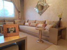 Salon marocain beige – INTÉRIEUR SUR MESURE