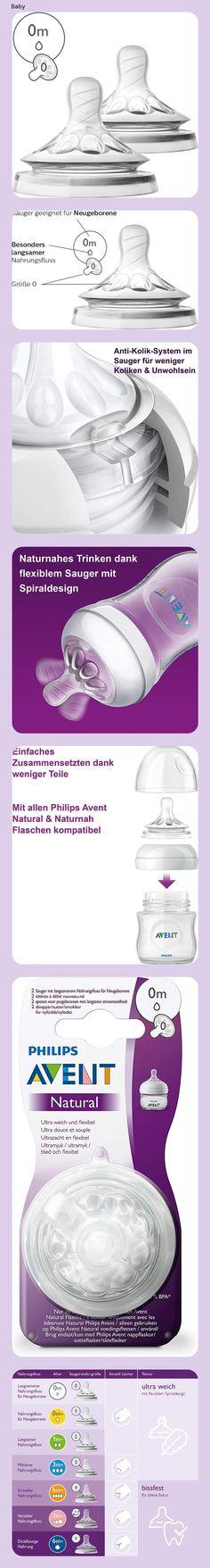 Bottles// Brush// Teats Philips AVENT NATURAL Newborn Starter SET SCD290//00