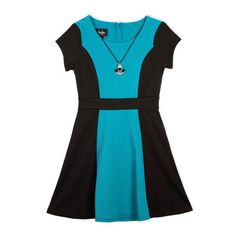 10/31/14  Brand/Designer: By And By Girl Material: Knit /Polyester /Ponte /Spandex Shoulder: Cap Sleeves Embellishments: Colorblocking Keyhole Size Category: Girls Machine Wash Line Dry Available Colors: Teal
