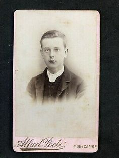 Of a photograph of : Victorian person / scene :see above for any details. Size : 10.5 x 6.5 cm approx. Lancaster, Morecambe, See Picture, Gentleman, Im Not Perfect, Photograph, Size 10, Scene, Victorian