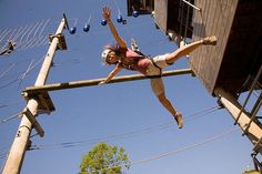 Aerial Extreme High Ropes Adventure - 5 Locations!