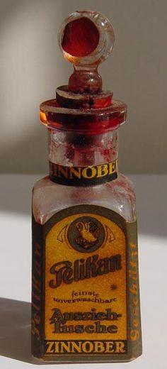 Rare Pelikan Ink Bottle from around 1900