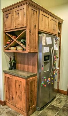 Small Kitchen Makeover Gorgeous Small Kitchen Remodel Ideas 27 - Remodeling your small kitchen shouldn't be a difficult task. When you put your small kitchen remodeling idea on paper, just […] Built In Refrigerator, Kitchen Remodel Small, New Homes, Rustic Kitchen Cabinets, Farmhouse Kitchen Remodel, Diy Kitchen, Rustic Kitchen, Kitchen Renovation, Kitchen Design