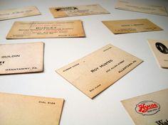 lots of vintage cards