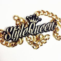 """""""Style Queen"""" custom necklace by Shaiem Jewelry."""