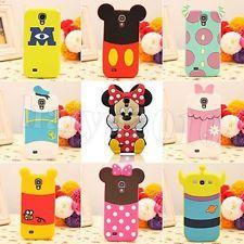 3D Disney Minnie Cartoon Silicone Case Cover For Samsung Galaxy S4 Mini   S4  Galaxy S4 fa63c61061ff