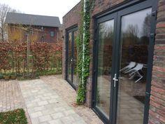 Openslaande deuren kunststof ral 7016 Deceuninck Zendow#neo Premium