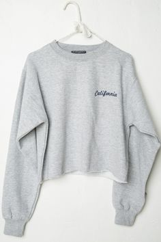Brandy ♥ Melville | Nancy California Embroidery Sweatshirt - Graphics