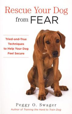 Fearful Dog? This book can help! Rescue Your Dog From Fear - Tried-and-True Techniques to Help Your Dog Feel Secure by Peggy Swager