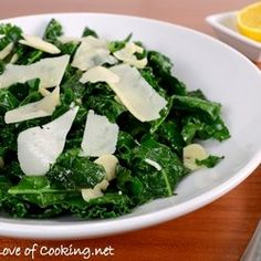 Lemon-Garlic Kale Saute — Punchfork