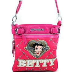 Betty Boop® Sequin Glitz Crossbody
