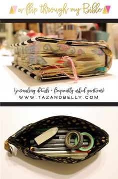 Everything You Ever Wanted to Know About Bible Journaling - Taz and Belly Faith Bible, My Bible, Bible Art, Scripture Doodle, Scripture Study, Bible Study Journal, Art Journaling, Bible Prayers, Illustrated Faith