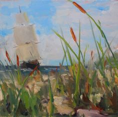 Artists Of Texas Contemporary Paintings and Art - Tails of the Sea
