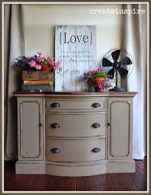 {createinspire}: Bow Front Buffet in Coco