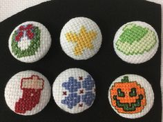 embroidered buttons. any reason.