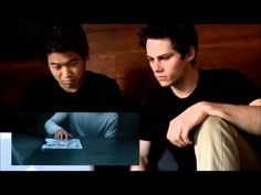 Dylan O'Brien & Ki Hong Lee react to the Scorch Trials trailer.