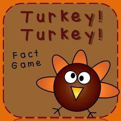 Thanksgiving Fact Game