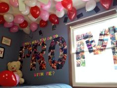 He spelled out prom with pictures of him and his girlfriend. How adorable is that?! pic.twitter.com/HpRU3zocpE