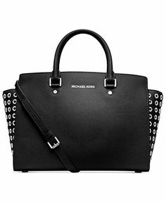 MICHAEL Michael Kors Selma Grommet Satchel. This will be my next MK purse purchase!