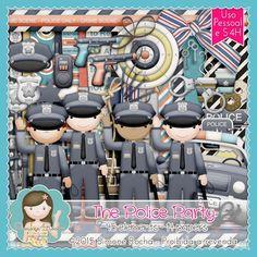 Kit Digital The Police Party By Simone Rocha