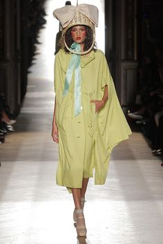 Look 17 at Vivienne Westwood #SS15 Gold Label