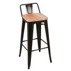 Debenhams Black metal 'Chicago' bar stool-was £120 now £60.